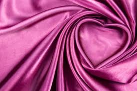sample of purple silk fabric