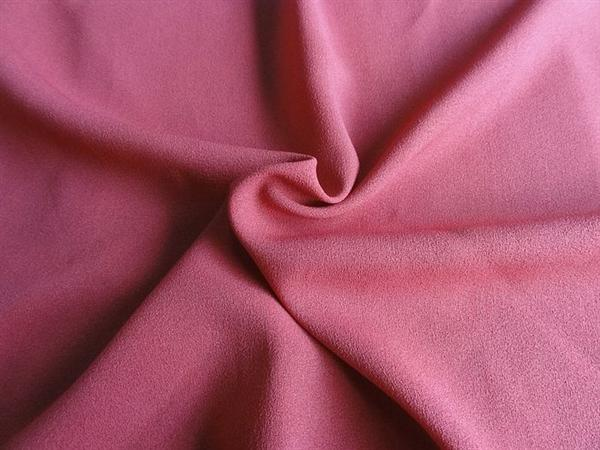 A nice color red polyester fabric.