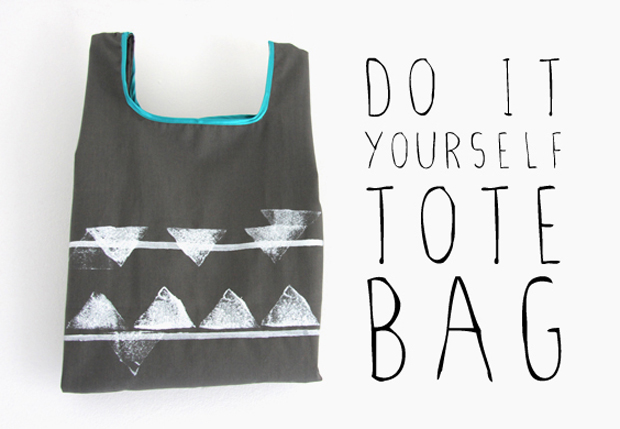 Do-It-Your-Own Tote Bag Tutorial For Beginners