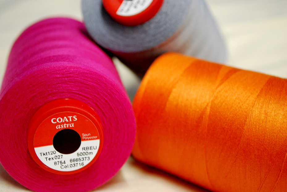 Coats Astra sewing threads.