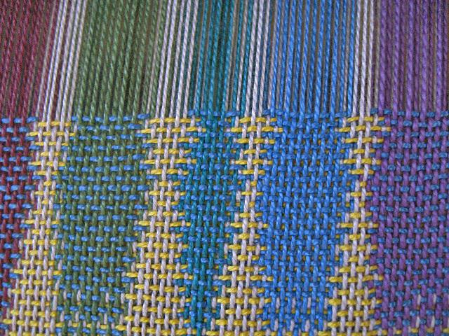 A double weave pattern