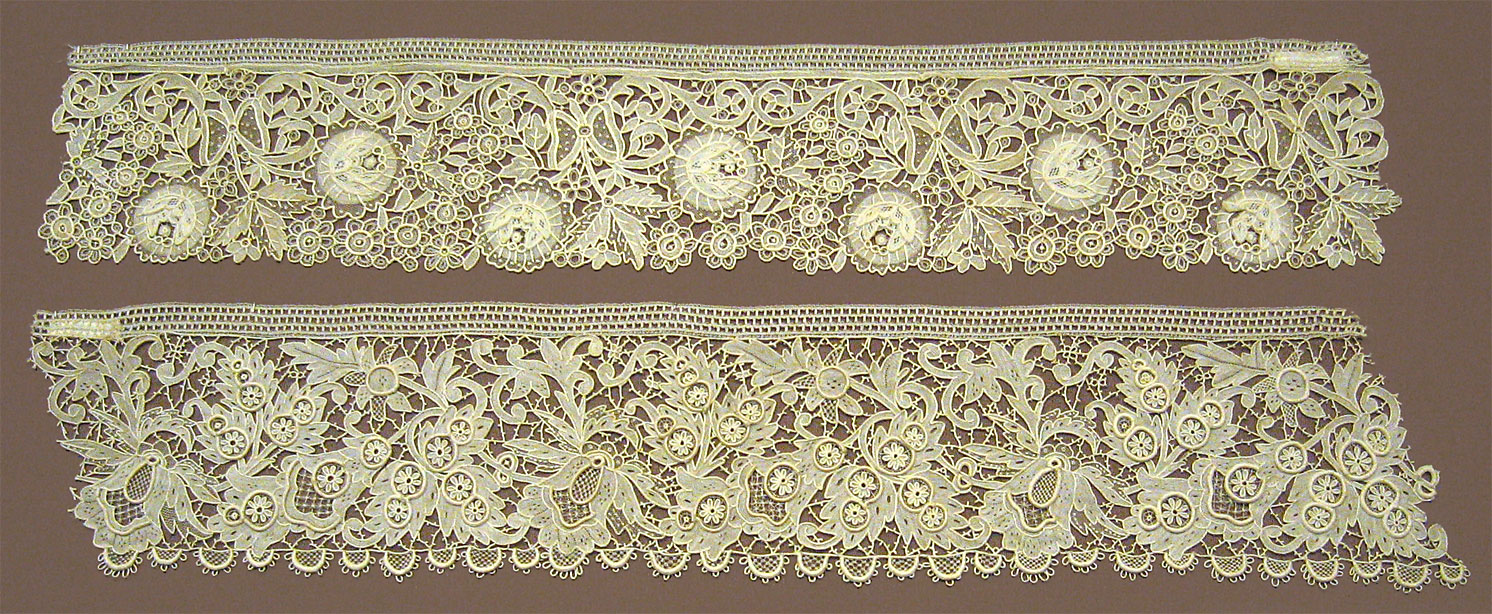 A sample of a needle lace.