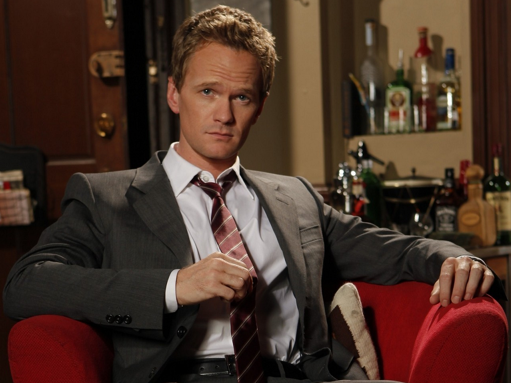 Neil Patrick Harris as Barney Stinson.