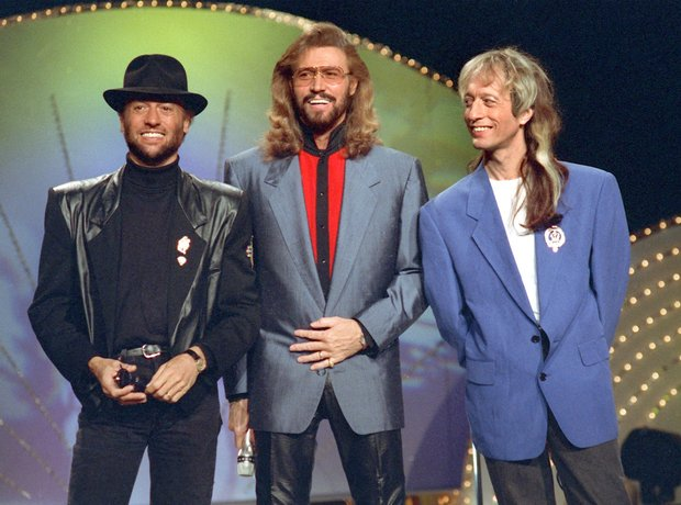 Famous rock band Bee Gees.