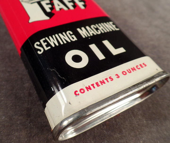 An oil used for maintaining sewing machine.