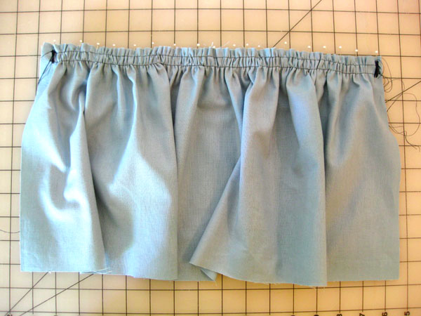 Adding pleats and darts in sewing.