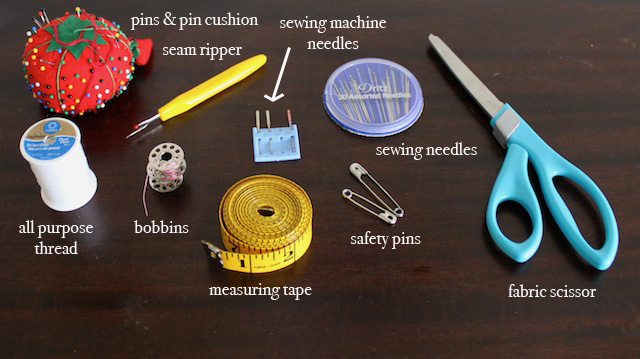 Sewing tools.