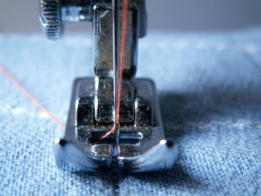 Replace sewing needles as often as possible.